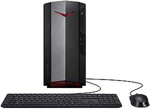 Mytrix by_Acer Nitro N50 1650 Gaming Desktop PC Intel Core i5-10400 6-Core Processor, GeForce GTX 1650 HDMI/DVI, 8GB RAM, 512GB SSD, Wi-Fi 6, Ethernet, Win 10