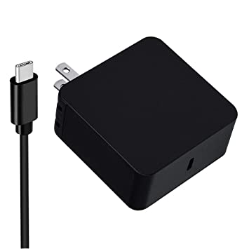 Amazon.com: 65 W USB C cargador adaptador de pared para ...
