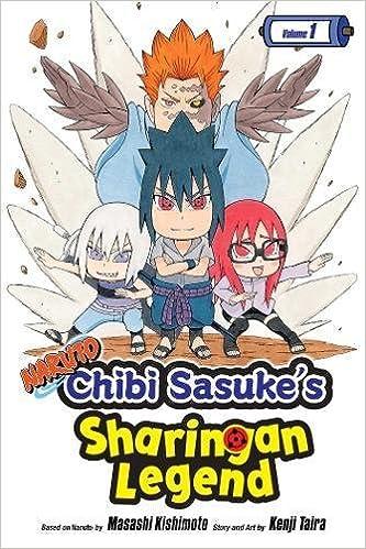 Amazon Naruto Chibi Sasukes Sharingan Legend Vol 1 9781421597102 Kenji Taira Masashi Kishimoto Books