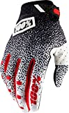 100% Ridefit Gloves (SMALL) (BLACK/WHITE)
