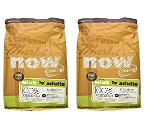 Petcurean Now! Grain-Free Small Breed Adult Dog Dry Food, 6 lb. - Pack of 2