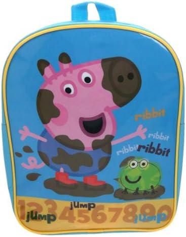Trade Mark Collections PEPPA001239 Mochila escolar George Peppa Pig