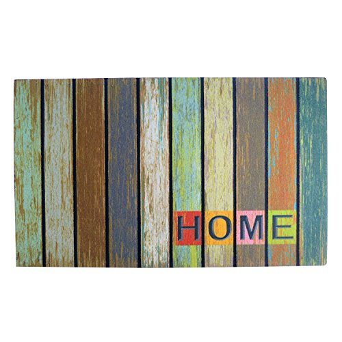 Welcome Mat For Home  Country Cabin Barnwood Home Pattern Front Door  Back Door Indoor Or Outdoor   Large Size