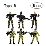Expand your kids imagination with this brigade unit force used for roleplaying and immerse operations and missions. Bring home the action of this soldier play-set. This would be a great gift for little boysFeatures:100% brand new and high qualityA se...