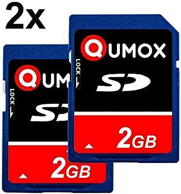 Amazon.com: QUMOX, 2 unidades 2 GB 2048 MB tarjeta de ...