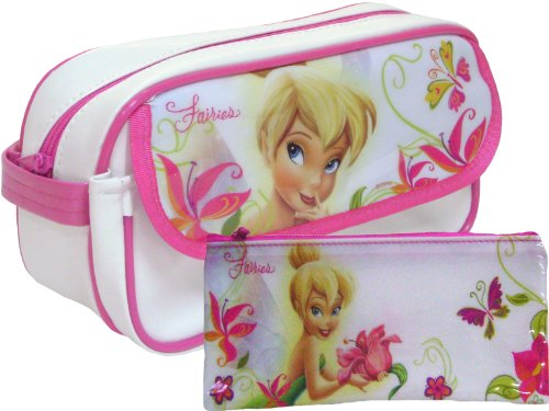 Tinker Bell Pencil Case + 12 Decorated Pencils