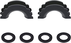 Win A Free MuHize Black D-Ring Shackle Cover 2 Pcs Shackle Isolator...