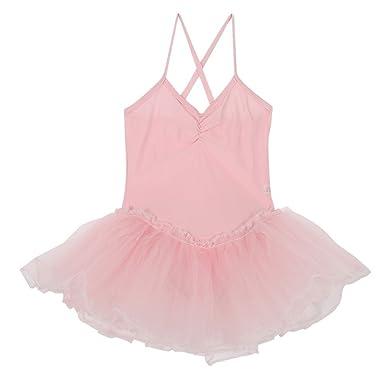 21c86754cdf7 ESHOO Kids Girls Dance Leotard Ballet Dress Dancewear Gymnastics Bodysuit  Skirt 3-12 Years: Amazon.co.uk: Clothing