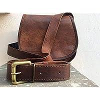 Pascado Small Handmade Vintage leather crossbody shoulder satchel purse bag for women