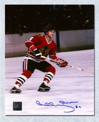 AJ Sports World Bobby Orr Chicago Blackhawks Autographed 8x10 Photo: GNR COA ()
