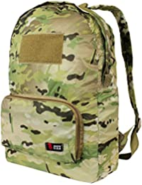 Packable Tactical Camping Hiking Travel Backpack by Mars Gear