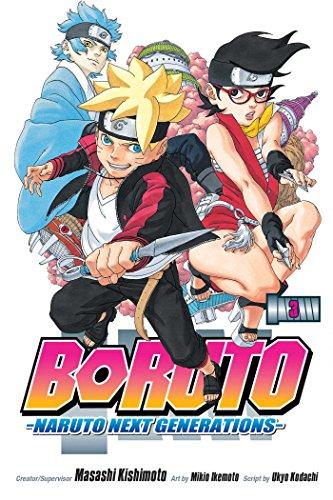Boruto: Naruto Next Generations, Vol. 3 (3) Paperback – Illustrated, March 6, 2018