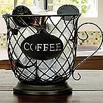 Cestello-Porta-Capsule-Caffe-UNISOPH-Porta-Capsule-Multiplo-Portaoggetti-da-Cucina-da-Appoggio-per-Tassimo-Nespresso-Dolce-Gusto