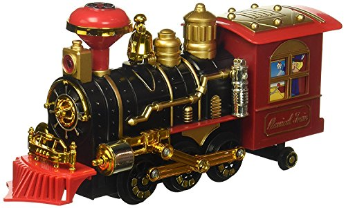 Cool Classical Locomotive Battery Operated Bump And Go Toy Train W  Smoking Action  Real Train Horn  Working Headlight  Colors May Vary  Cool Train  Realistic Train  Classic Toy  Bump And Go Action