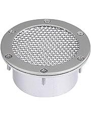 brake cooling intake duct + Akozon Air Intake Modify, Universal Car Racing Air Duct Grille (Silver)