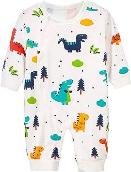Newborn Baby Boy Girl Dinosaur Romper Bodysuit Jumpsuit Playsuit Outfits Clothes