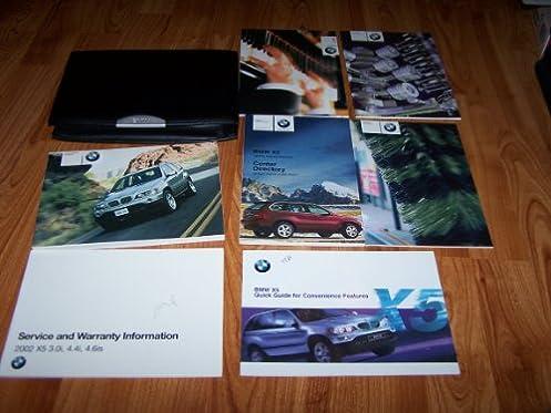 2002 bmw x5 owners manual bmw amazon com books rh amazon com 2001 BMW X5 3.0Fuoxs 2002 BMW X5 Rims