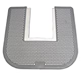 Impact Deodorizing Disposable Floor Toilet Commode Mat, with Orchard Zing Scent, 23' Width x 21-5/8' Length, Gray (Pack of 6)