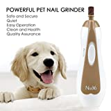 NuoYo Pet Nail Grinder, Dog Nail Clippers Electric