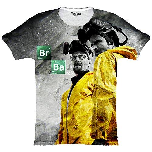Veni Vici Herren T-Shirt mehrfarbig weiß