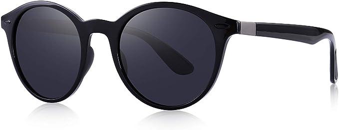 OLIEYE Sunglasses for Women Vintage Polarized Men Sun Glasses Fashion Shades UV400 Protection Lens