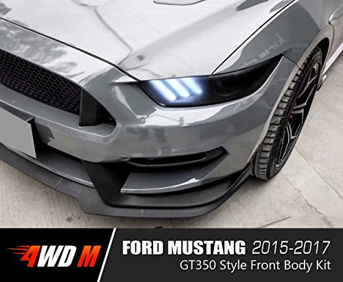 4wdmuscle Gt350 Style Front Body Kit For Ford Mustang 15 17 Gt