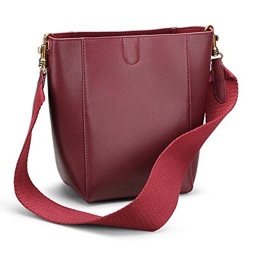 black main l'hiver gaufré en de en capacité l'automne cuir et à diagonale boucle l'épaule de sacs grande sac bandoulière Paquet de 8gWcURn8