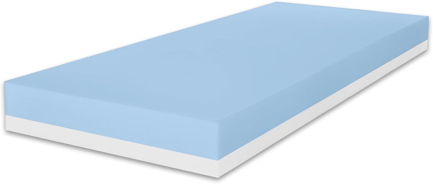 Marcapiuma – Colchón Individual Memory 85 x 190 Alto 20 cm – Sunrise – H2 Medio Dispositivo médico Efecto Masaje Relax ergonómico Revestimiento ...