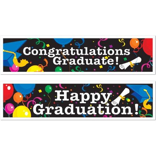 Graduation Banners asstd designs Accessory