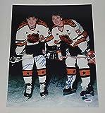 NHL Greats Wayne Gretzky, Mario Lemieux Signed Autograph 11x14 Photo PSA/DNA Bas -Authentic Hockey Autograph