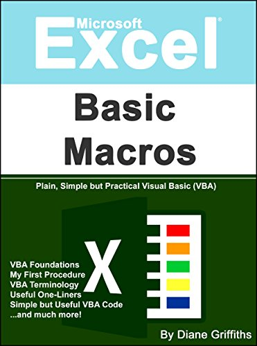 (Microsoft Excel Basic Macros: Plain, Simple but Practical Visual Basic (VBA) (Learn Excel Visually Journey Book)