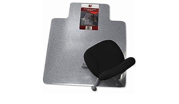 SumacLife silla de oficina/Home vinilo transparente Alfombra/Floor Mat rectangular con borde de borde recto (Varios Tamaños Disponibles): Amazon.es: Oficina ...