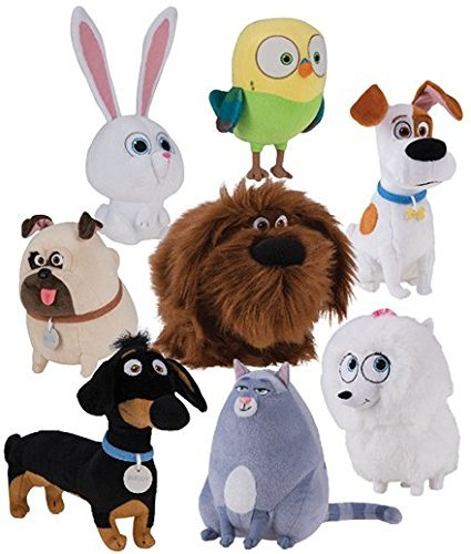 The Secret Life of Pets Movie Collectible Complete Plush Buddy Set