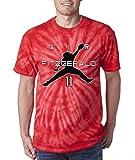"The Silo RED TIE-DYE Arizona ""Air Fitzgerald"" T-Shirt"