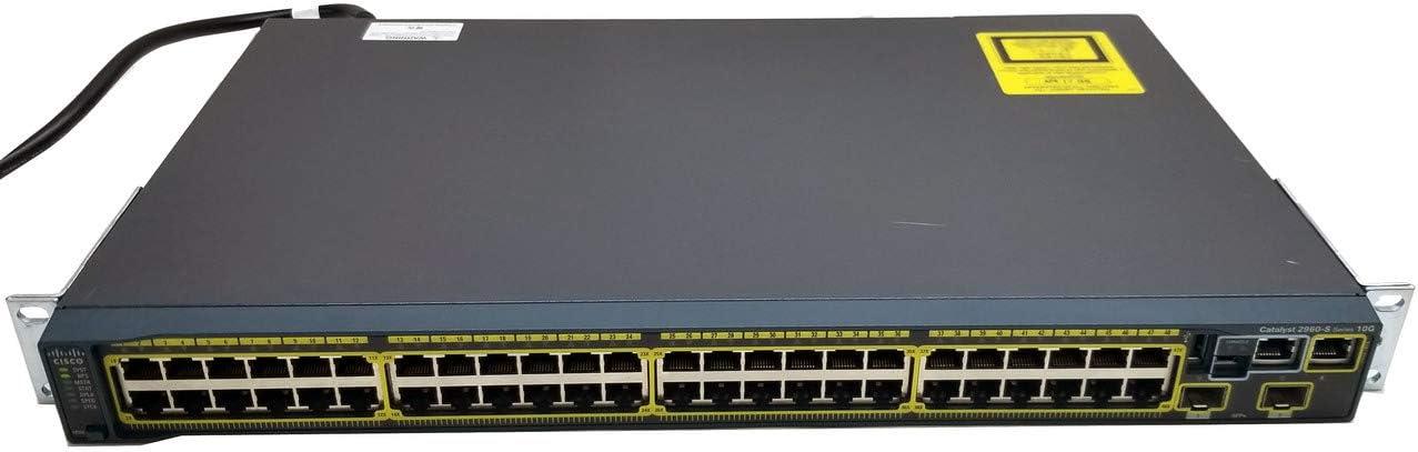 CISCO WS-C2960S-48TD-L CATALYST 2960-S 48PORT GIGE 2X10G SFP LAN BASE
