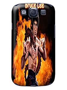 Samsung Galaxy s3- fashionable Popular Bruce Lee phone protective Case with cool Design Hard TPU case