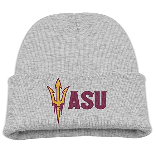 Buy cheap babala arizona state university logo children knitted beanie cap hat ski ash