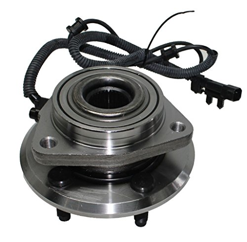 Detroit Axle Front Driver or Passenger Side Complete Wheel Hub and Bearing Assembly for 2007-2011 Dodge Nitro - [2008-2012 Jeep Liberty]
