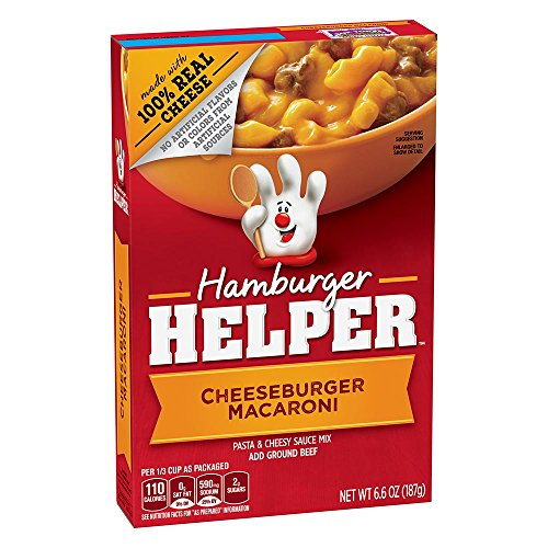 Betty Crocker Hamburger Helper, Cheeseburger Macaroni Hamburger Helper, 6.6 Oz ()