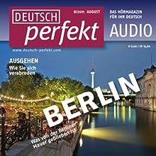 Deutsch perfekt Audio - Ausgehen im Sommer. 8/2011 Audiobook by  div. Narrated by  div.