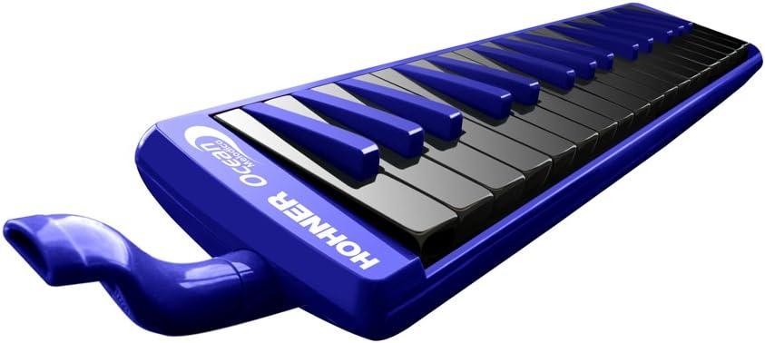 B0037LG6BQ Hohner 32O 32-Key Piano-Style Ocean Melodica, Blue 51LLvAS0PyL