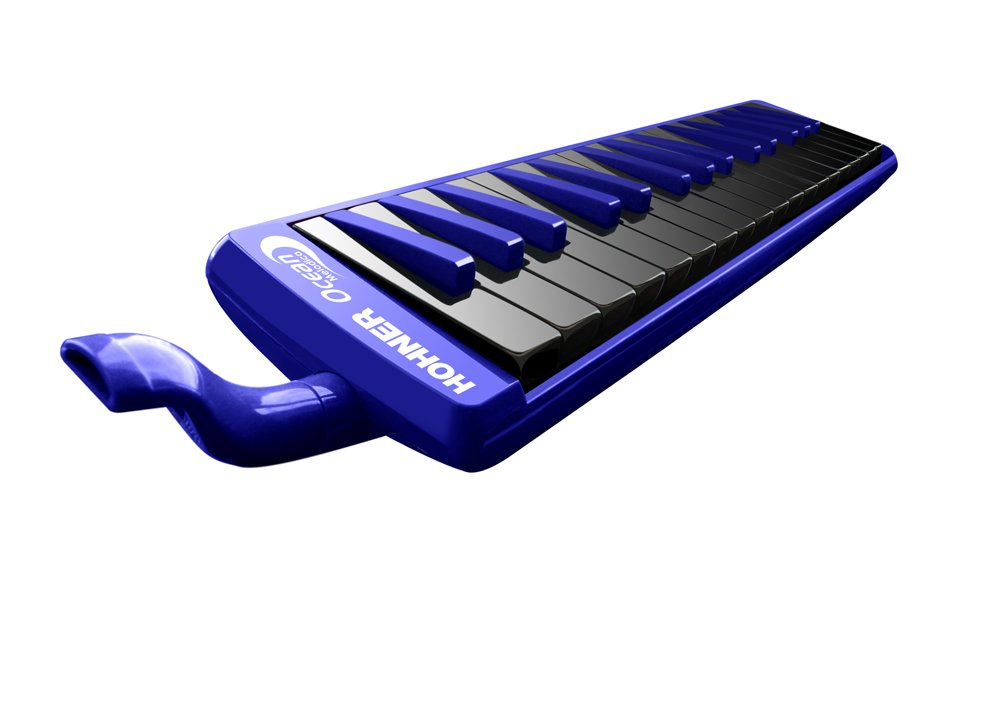 Hohner 32O 32-Key Piano-Style Ocean Melodica, Blue by Hohner Accordions