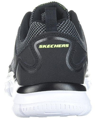 Bucolo Men's Sneakers Skechers Track White Black EqYwaAw
