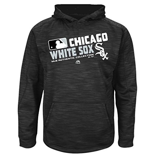 fan products of MLB Youth Authentic Collection Team Choice Streak Fleece Hoodie (Youth Large 14/16, Chicago White Sox)