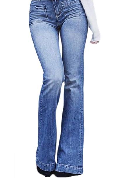 adec6a9eae3e6 Domorebest Jeans Pantalones adelgazantes de Cintura Alta y Adelgazamiento  de Las Mujeres  Amazon.es  Ropa y accesorios