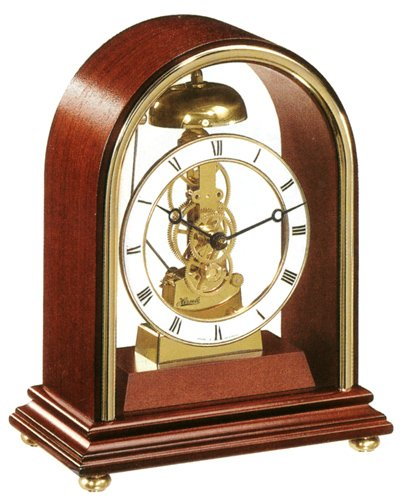 en Mantel Clock With Hour and Half Hour Strike (Hermle Mantel Clock)