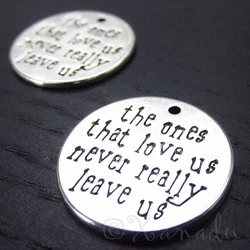 Wholesale 10pc Love Words Charm Silver DIY Jewelry Pendant For Bracelet Necklace