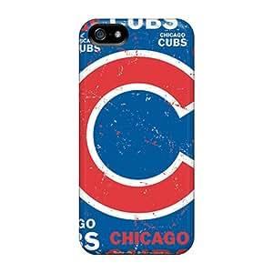 [hKm2249LTgr]premium Phone Case For Iphone 5/5s/ Chicago Cubs Tpu Case Cover