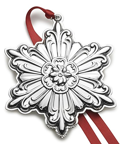 (Towle 2018 Old Master Snowflake Sterling Silver Christmas Holiday Ornament 29th Edition)