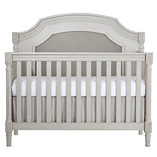 Evolur Julienne 5-in-1 Convertible Crib, Dove Grey
